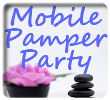 Mobile Pamper Party in Bournemouth, we come to you!