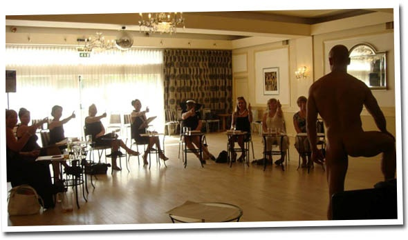 Bournemouth Life Drawing Class Hen Party